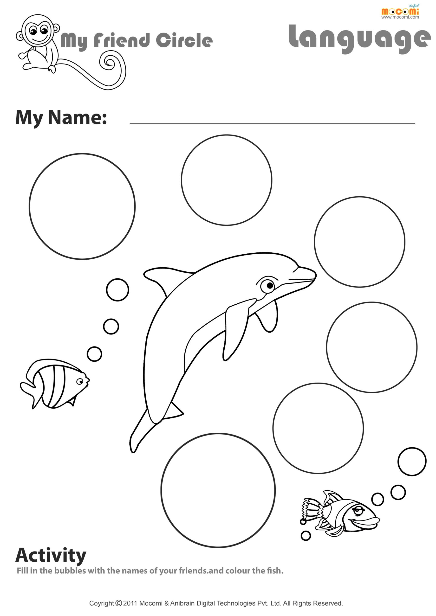 My Friend Circle English Worksheet For Kids Worksheets within Letter T Worksheets School Sparks