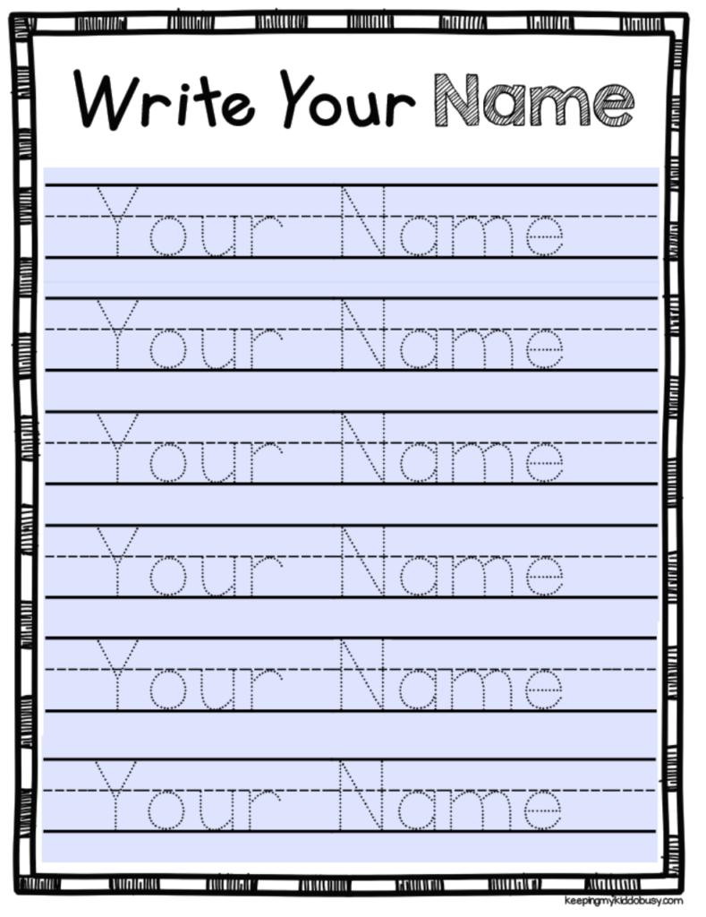 My Name Tracing   Alphabetworksheetsfree regarding Tracing Name Moondrops