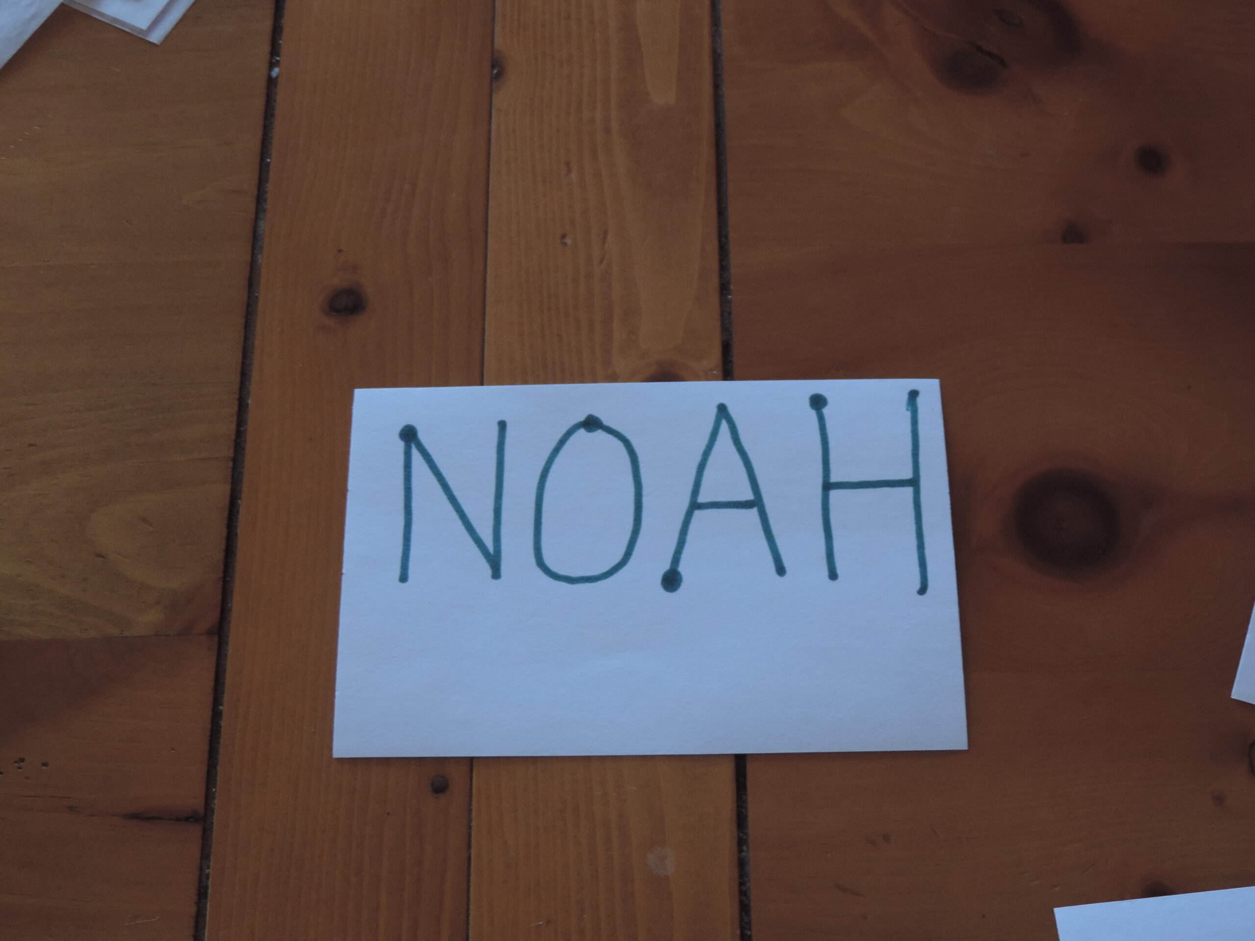 Name Tracing | Wordsofhisheart with Name Tracing Noah