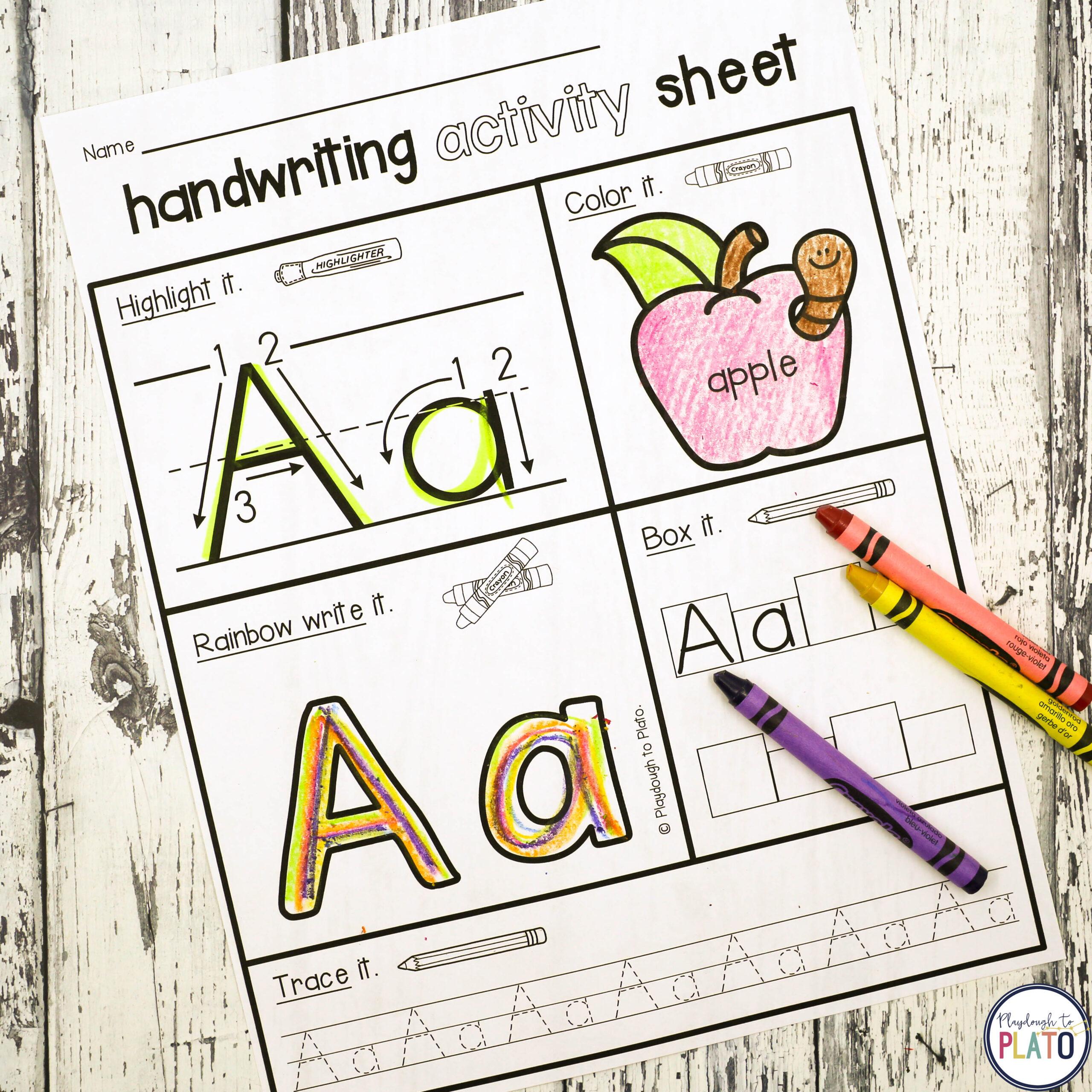 Nealian Letter Worksheet Printable Worksheets And Activities regarding D'nealian Alphabet Worksheets