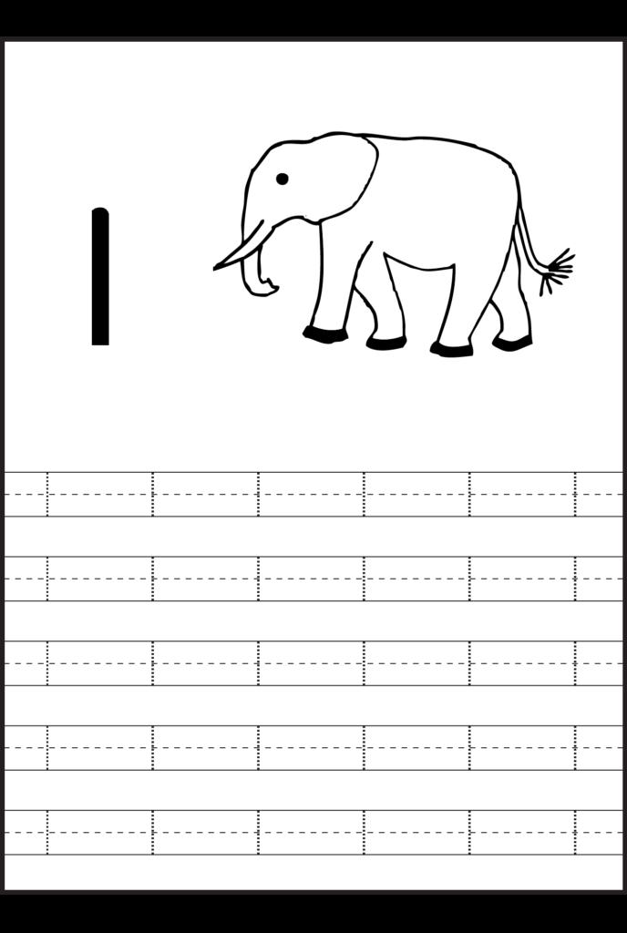 Number 1 Tracing Worksheets Preschool   Tracing Worksheets