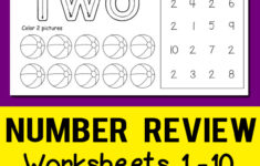 123 Tracing Worksheets Pdf
