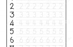 Pre K Tracing Name Worksheets