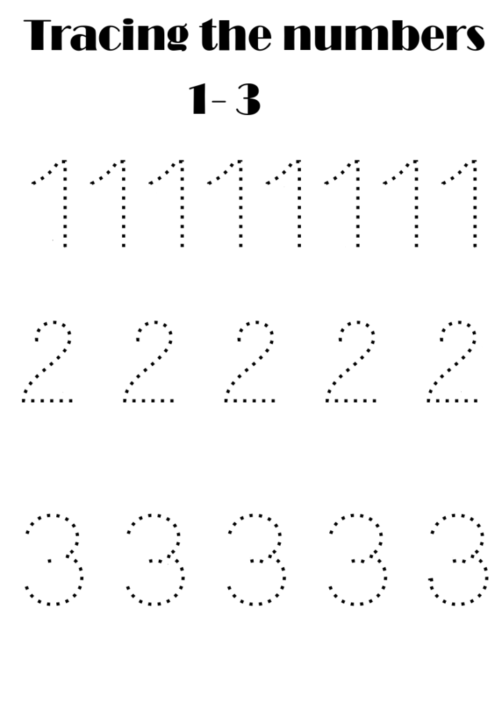 Number Tracing Free In 2020 | Number Tracing, Writing