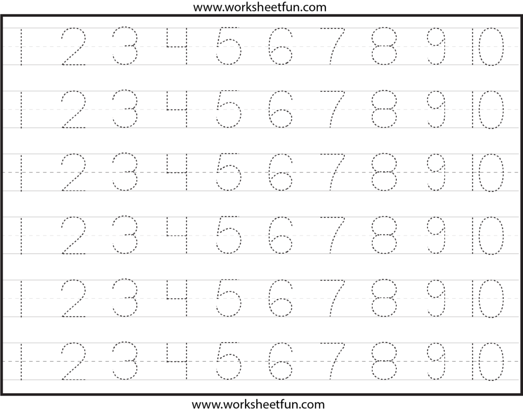 Number Tracing Lines Box 3 1,810×1,428 Pixels | Tracing Pertaining To Abc 123 Tracing Worksheets