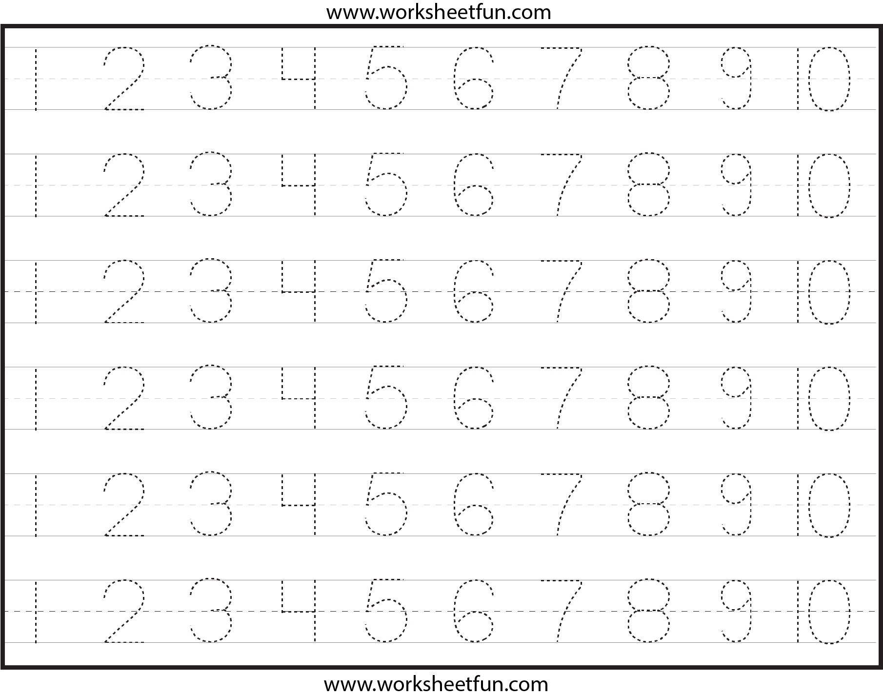 Number-Tracing-Lines-Box-3 1,810×1,428 Pixels | Tracing pertaining to Abc 123 Tracing Worksheets