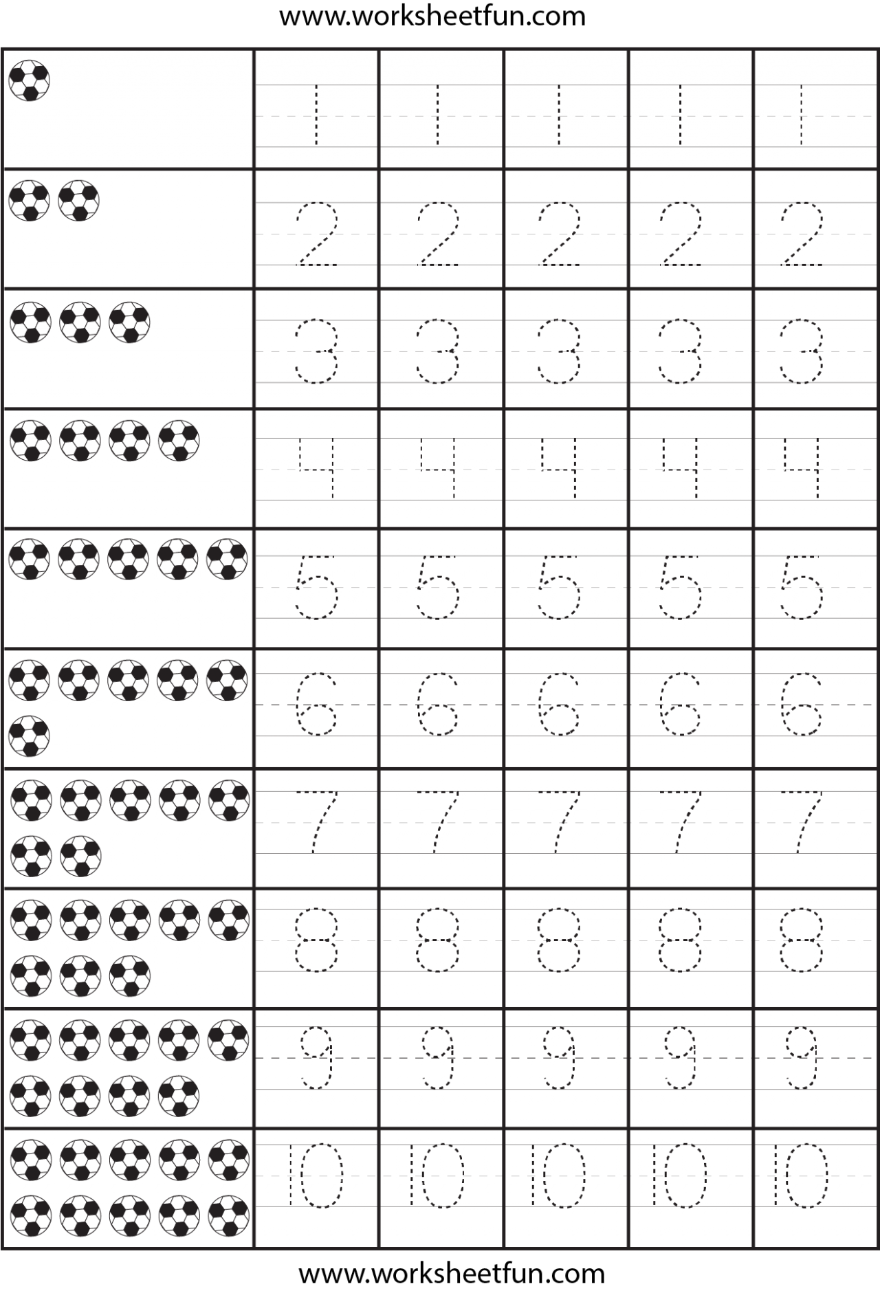 Number-Tracing-Worksheets-Pdf-5 (1280×1878) | คณิตศาสตร์