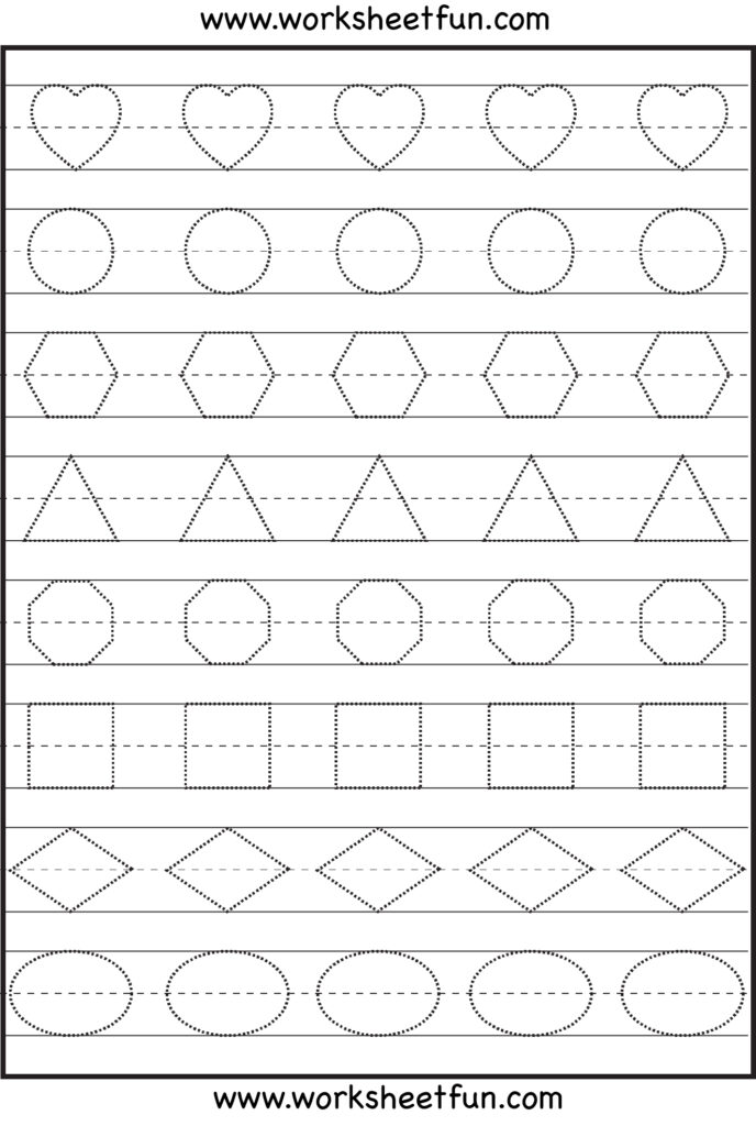 Pattern Writingts For Preschool Share Kindergarten Skills