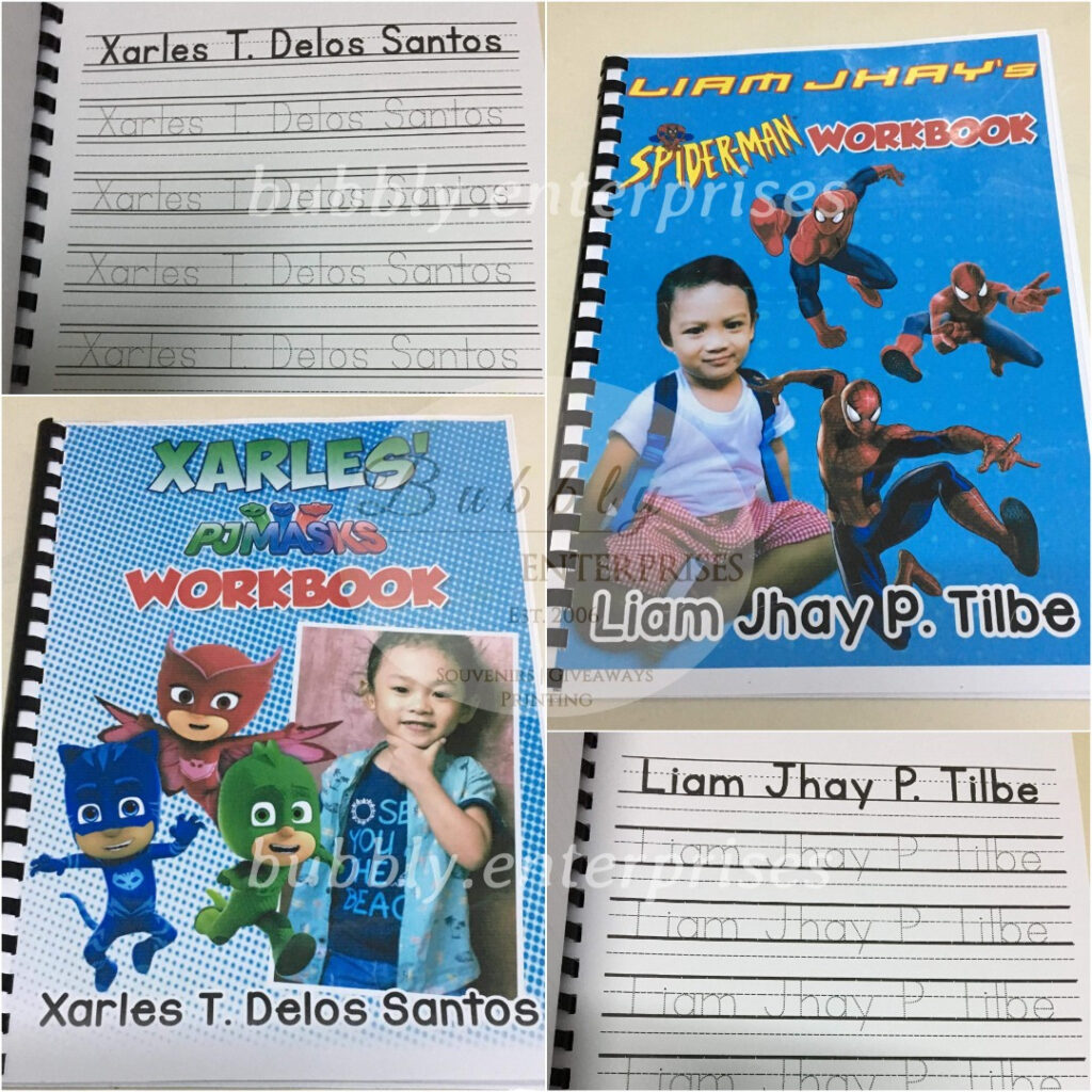 Personlized Name Tracing Workbook Activity Book Inside Name Tracing Book
