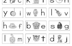 Alphabet Worksheets For Grade 1