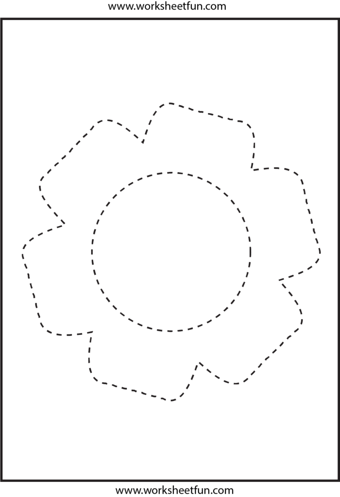 Picture Tracing   Flower | Stencil, Barn