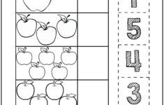 Apple Tracing Worksheets
