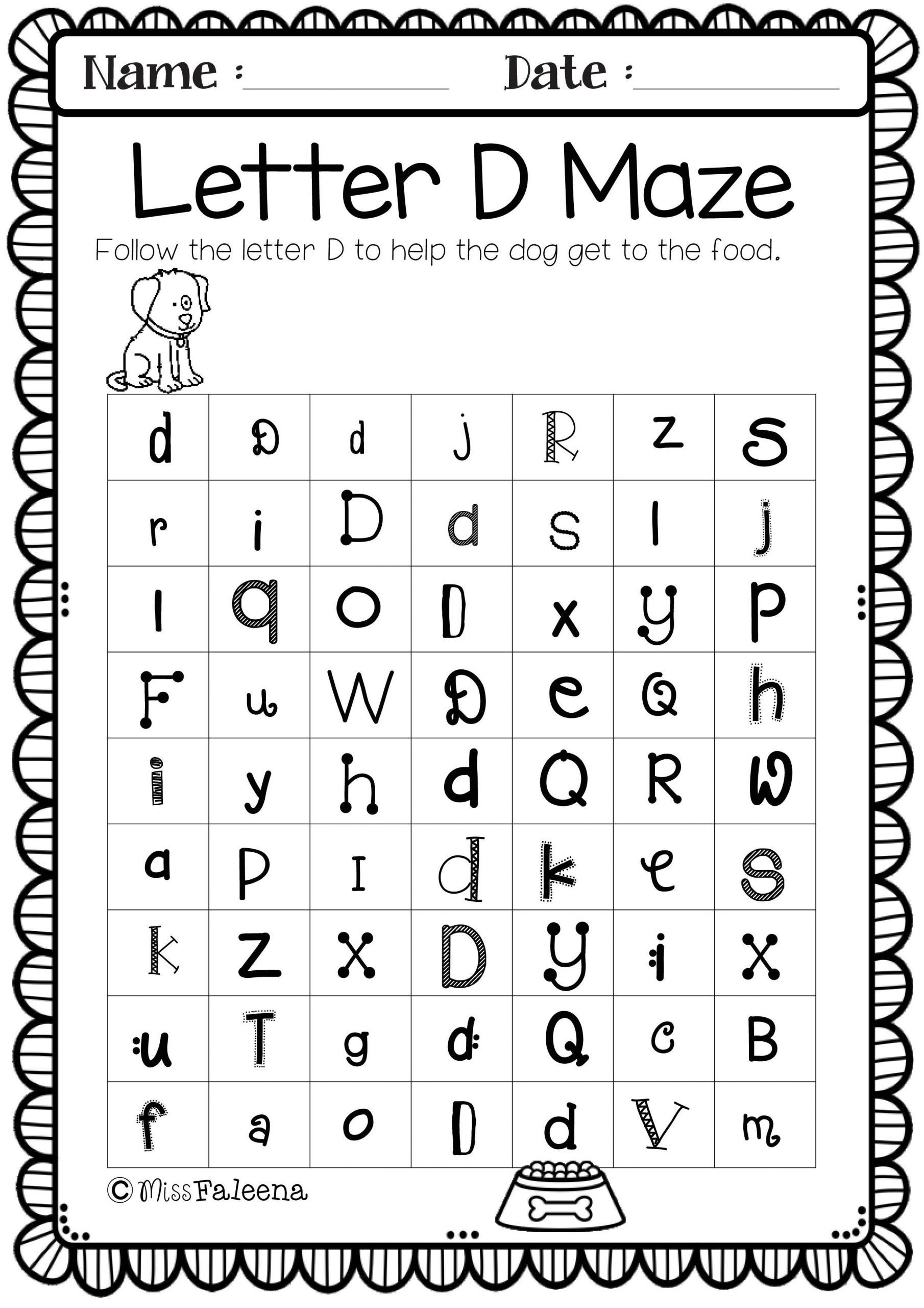 Pin On Preschool with Alphabet Worksheets For 7 Year Olds