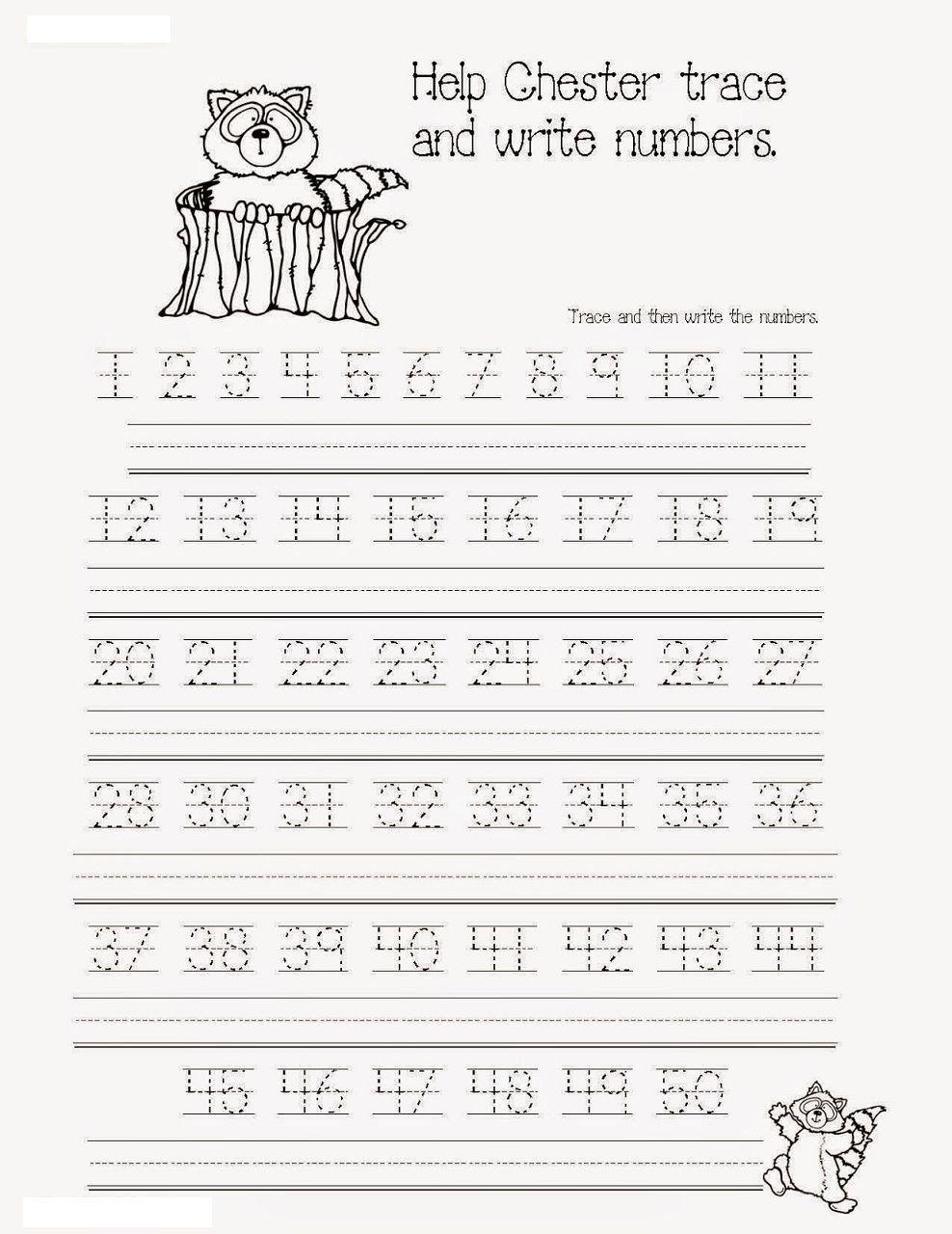 Pin On Printable Number Worksheet Template