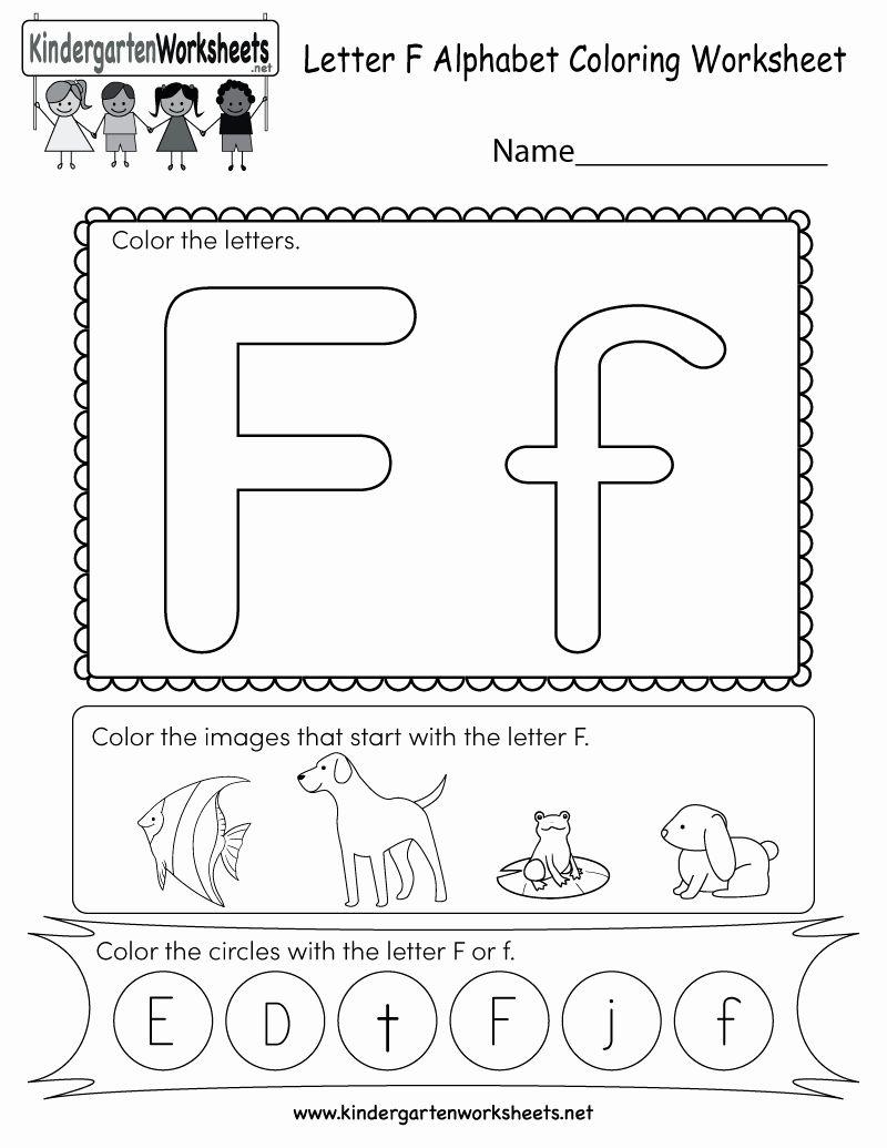 Pin On Worksheet Kindergarten pertaining to Letter F Worksheets Kidzone