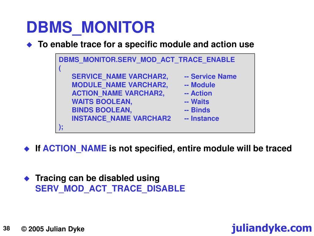 Ppt - Oracle Diagnostics Powerpoint Presentation, Free regarding Julian Name Tracing