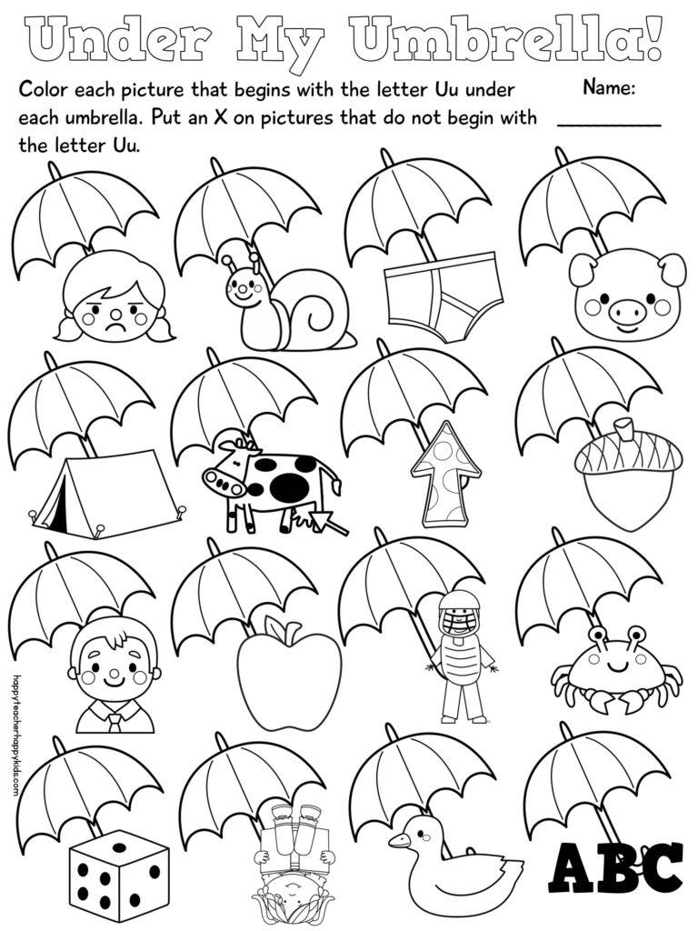 Practice With Short U Words $ | Phonics Worksheets For Letter U Worksheets Pinterest