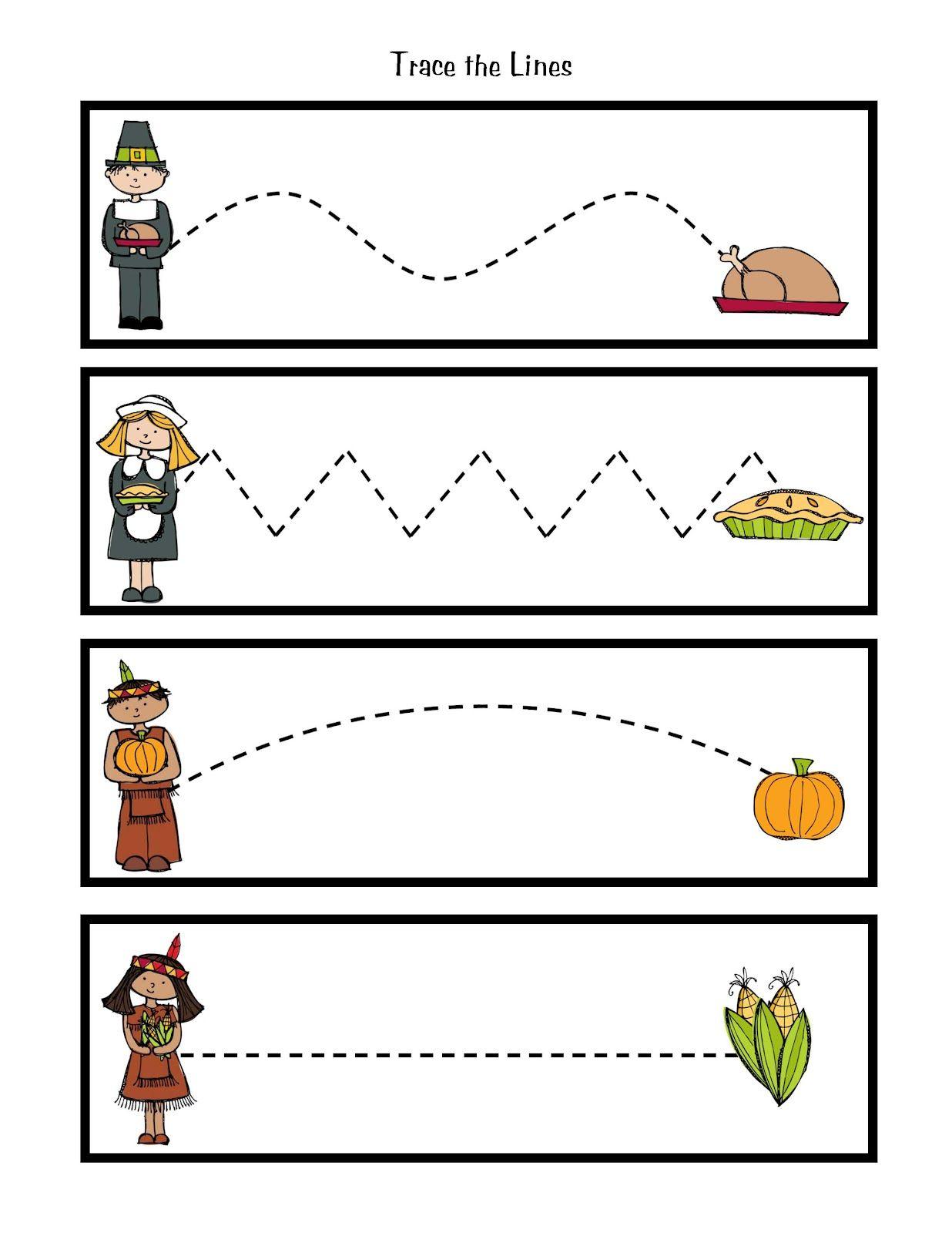 Preschool Printables: Thanksgiving Printable | Thanksgiving