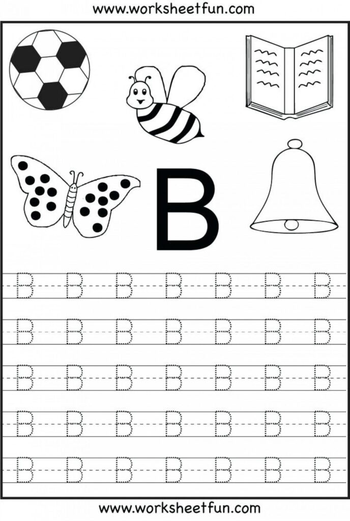 Preschool Tracing Letters Freetable Worksheets For