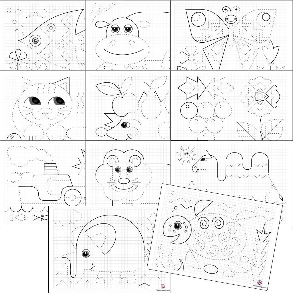 Preschool Tracing Worksheets. Teachersmag