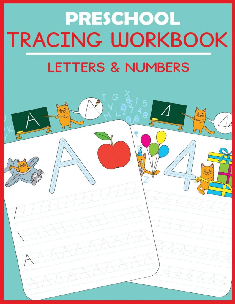 Preschool Workbooks: Preschool Tracing Workbook: Letters And Numbers  (Paperback)   Walmart With Regard To Alphabet Tracing Book Walmart