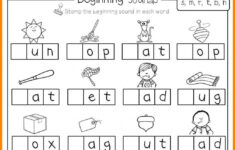 Alphabet Recognition Worksheets For Nursery