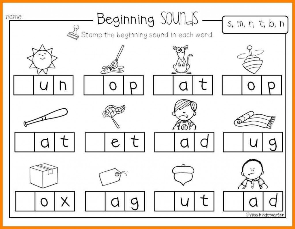 Printable Pre K Worksheets Worksheet Reading Activities For throughout Alphabet Reading Worksheets