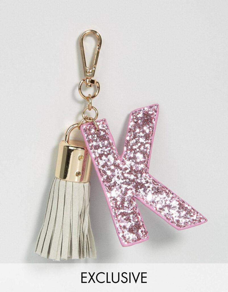 Skinnydip – K – Buchstaben Schlüsselanhänger | Asos