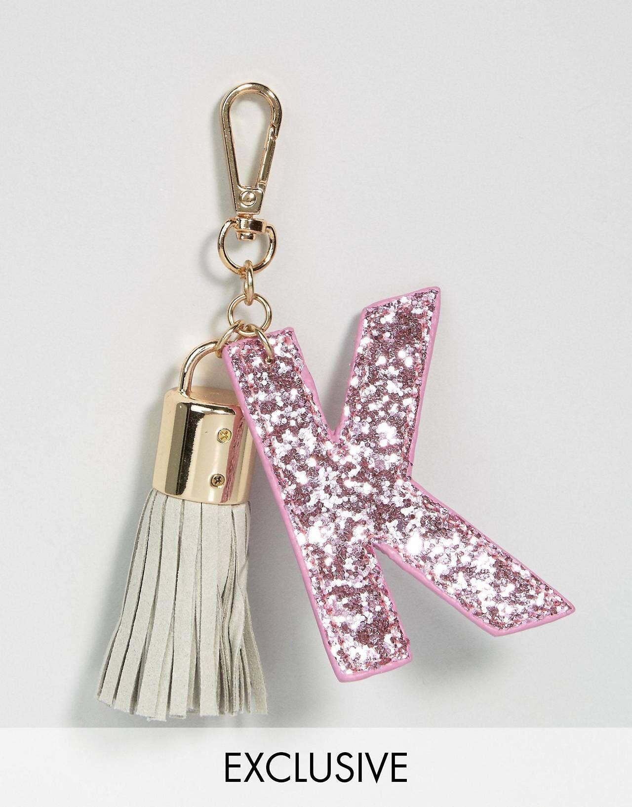 Skinnydip – K – Buchstaben-Schlüsselanhänger | Asos
