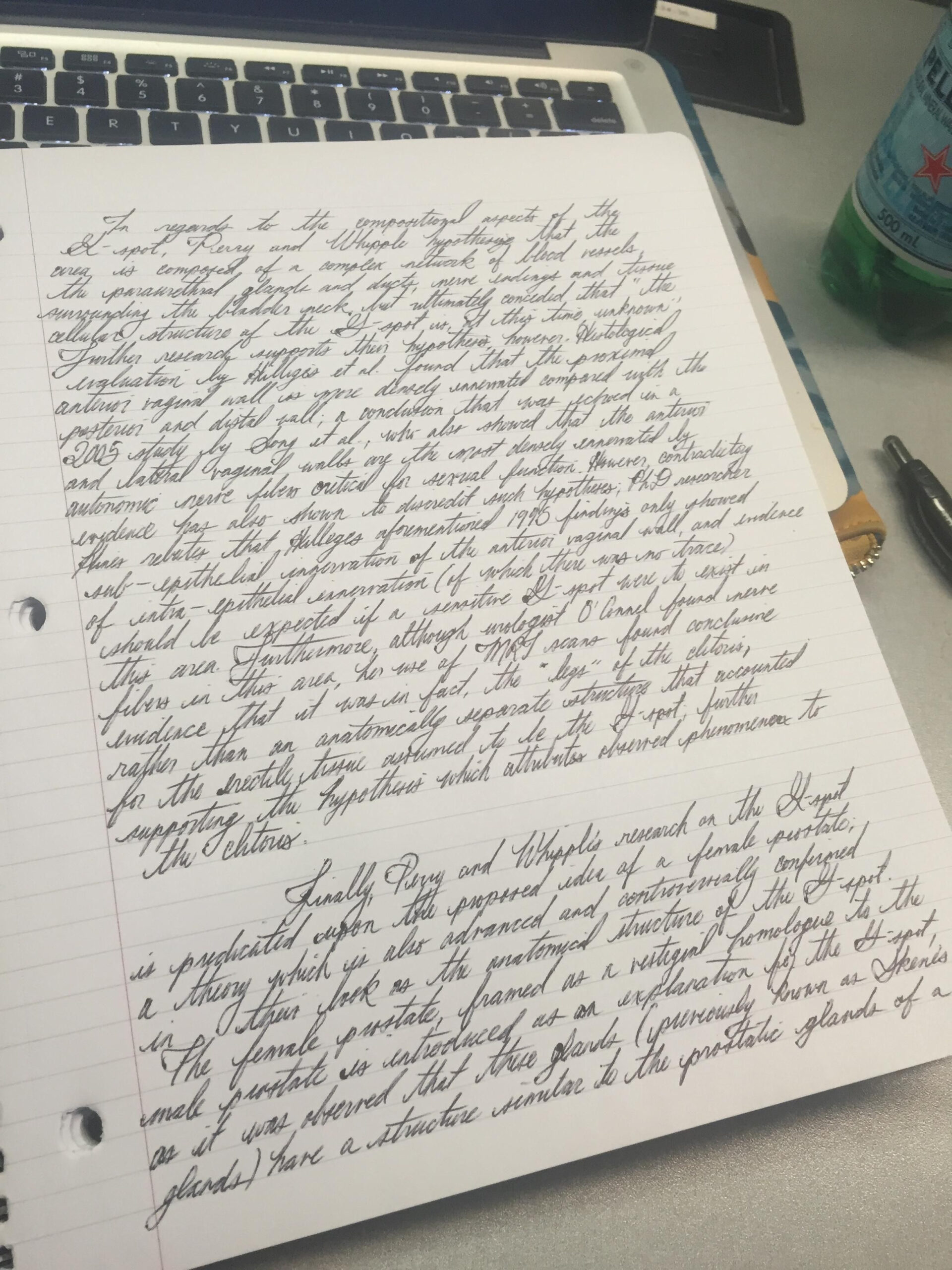Some People Say My Handwriting Is Illegible, Others Say It's