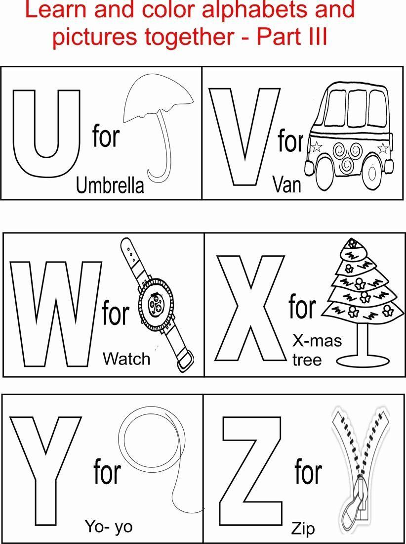 Splendi Printable Alphabet Coloring Pages Picture inside Alphabet Colouring Worksheets For Preschoolers