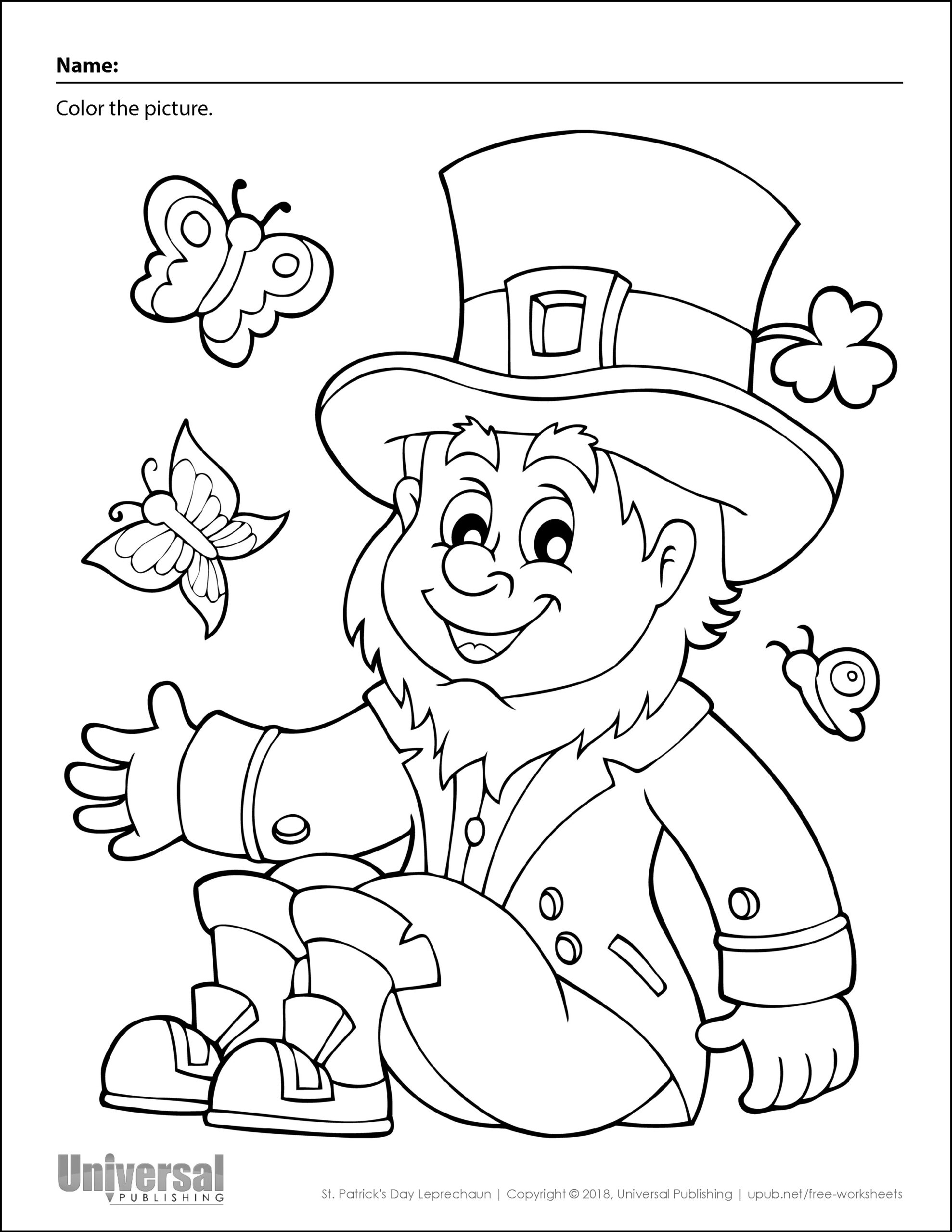 St. Patrick's Day | Free Printables - Universal Publishing Blog