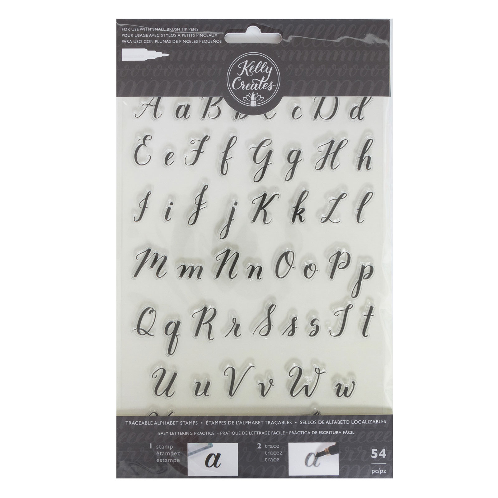 Stamp And Trace Collection for Alphabet Tracing Stamps