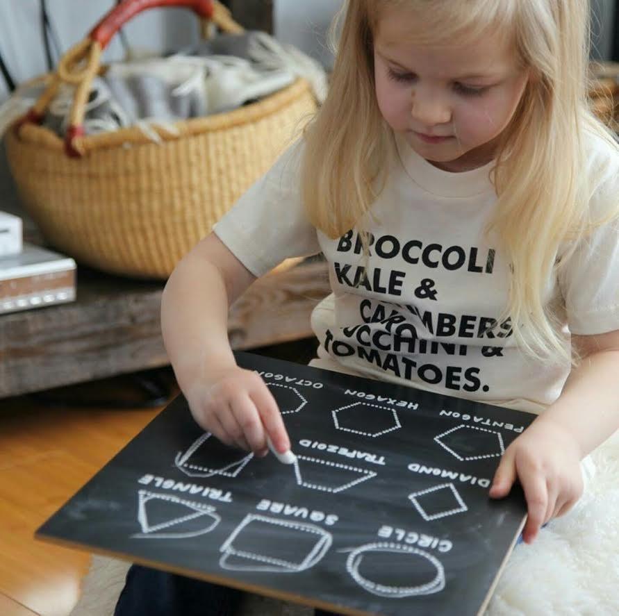 Step 1: Shapes Trace N Erase Chalkboard® | Fine Motor Skills For Name Tracing Chalkboard