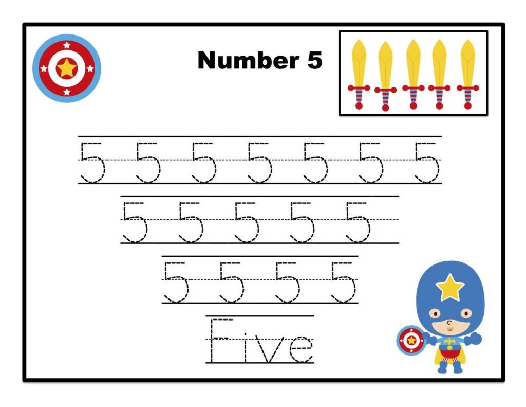 Super Heroes Learn Numbers ~ Preschool Printables | Numbers