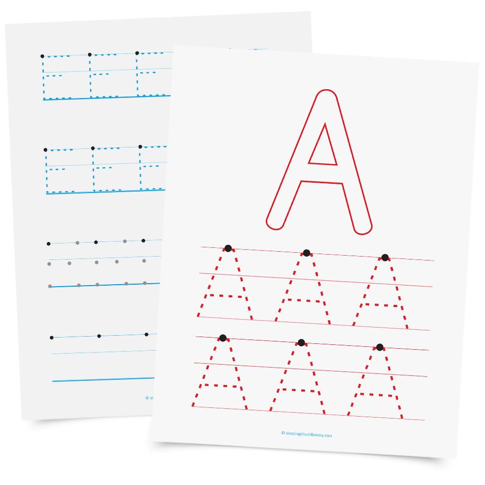 Teaching The Montessori Alphabet | Sleeping Should Be Easy pertaining to Letter Tracing Montessori