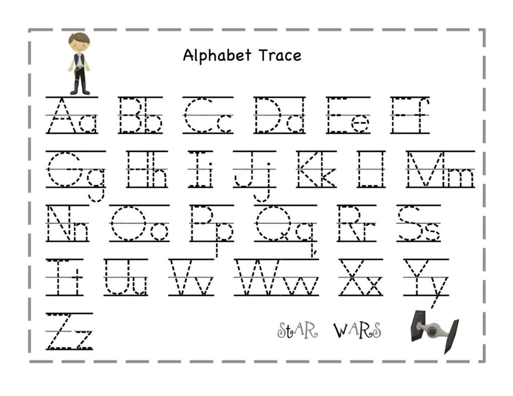 The Alphabet Tracing | Alphabet Tracing, Alphabet Preschool