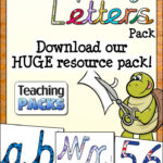 The Cursive Display Letters Pack   Resources For Teachers