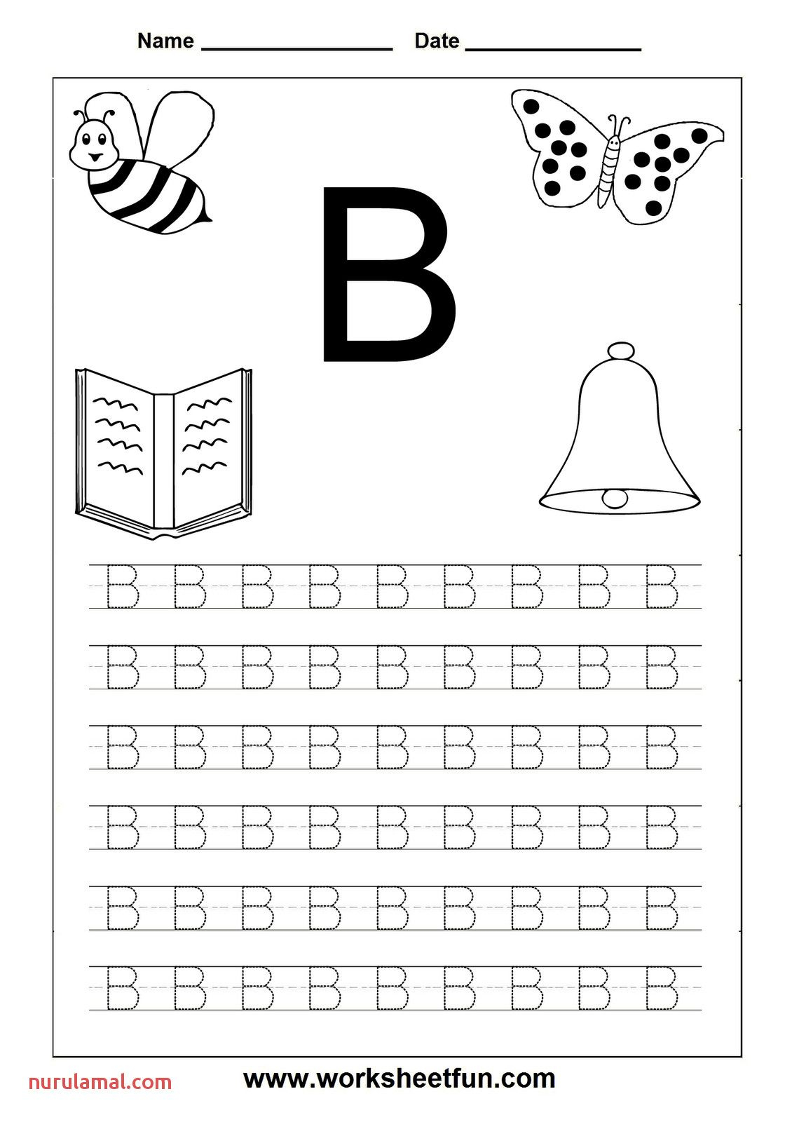 The Letter A Worksheets Printable 001 In 2020   Letter