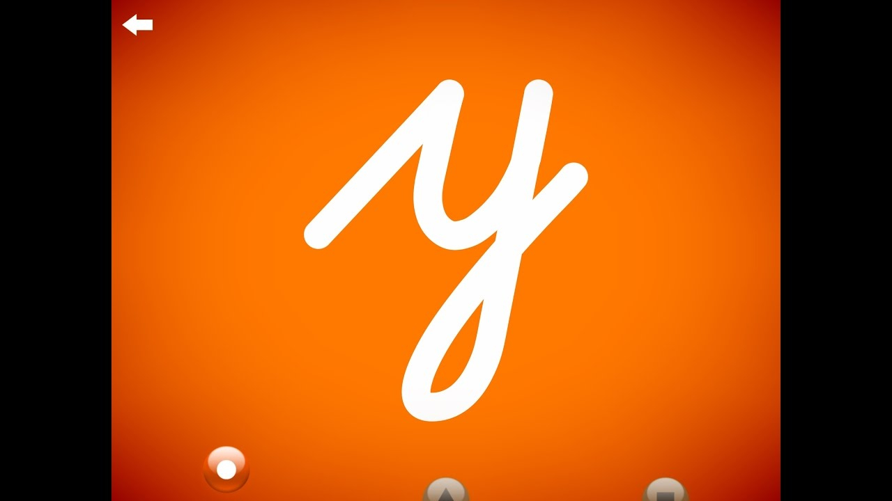 The Letter Y - Learn The Alphabet And Cursive Writing!