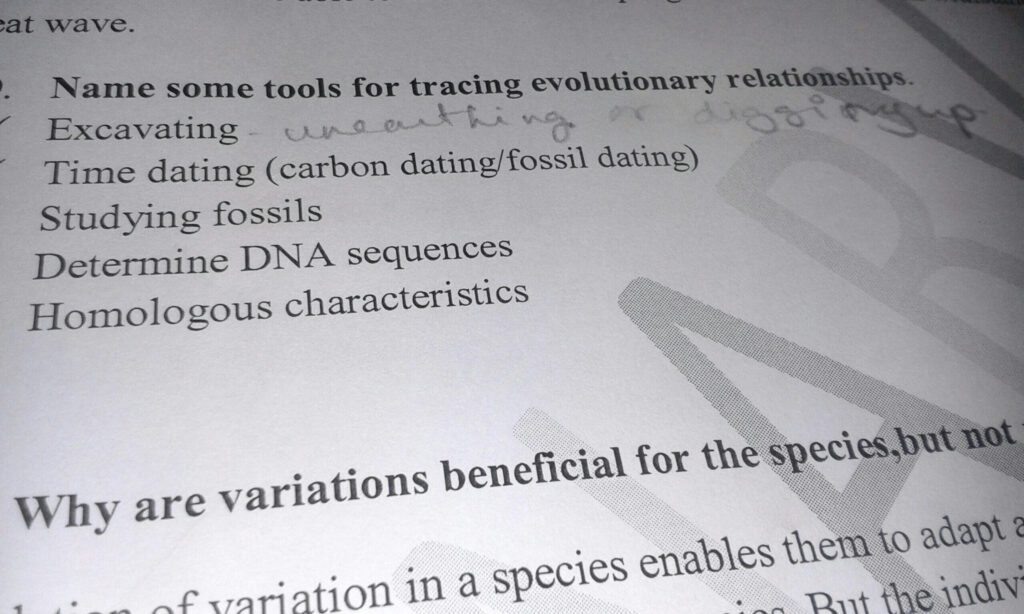Tools For Tracing Evolutionary Relationship In Brief About Intended For Name Some Tools For Tracing Evolutionary Relationships