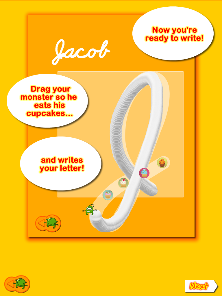 Touch And Write Cursive Letters App | Ot's With Apps