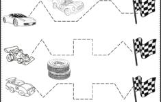 Car Tracing Worksheet