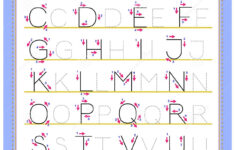 Tracing Abc Letter Worksheets