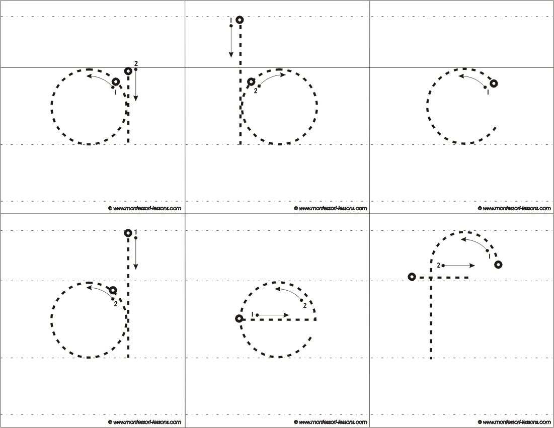 Tracing Big Letters, A-Z with regard to Letter Tracing Montessori