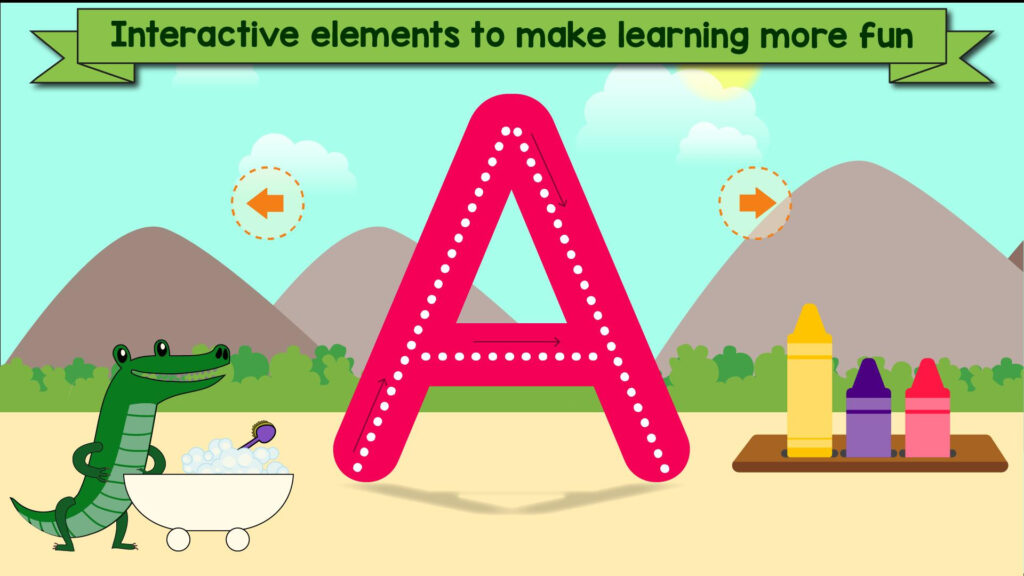 Tracing Letters & Numbers   Abc Kids Games For Android   Apk Within Letter Tracing Interactive