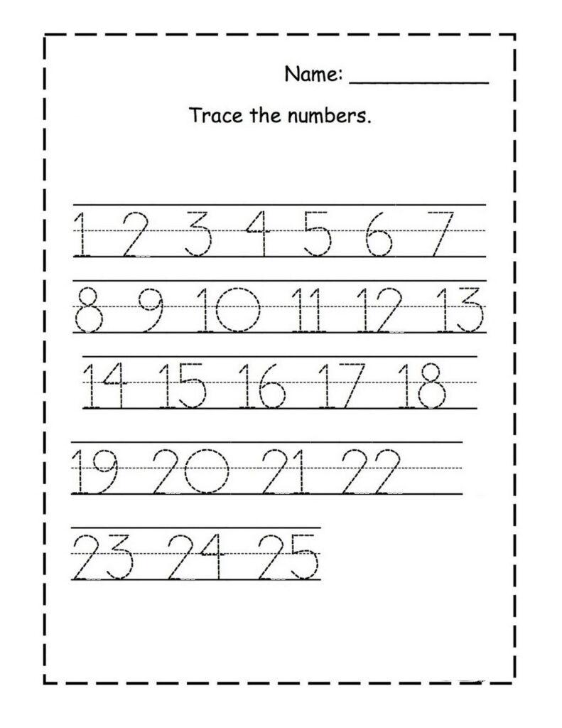 Tracing Numbers For Kg | Numbers Preschool, Dr Seuss