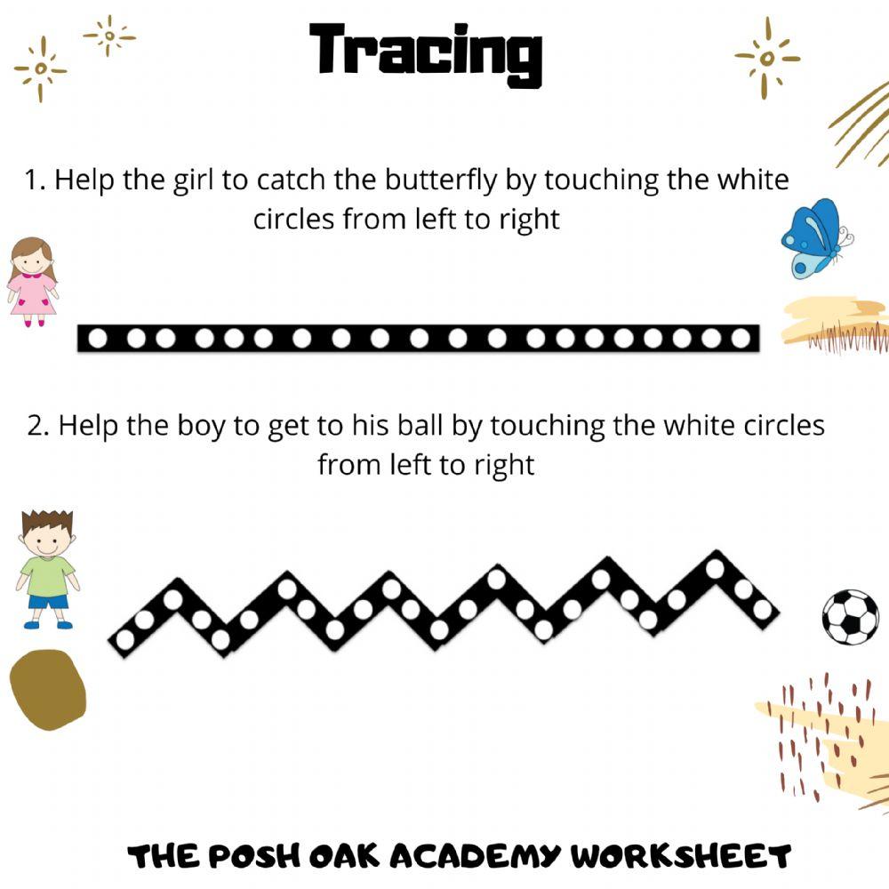 Tracing Patterns - Interactive Worksheet