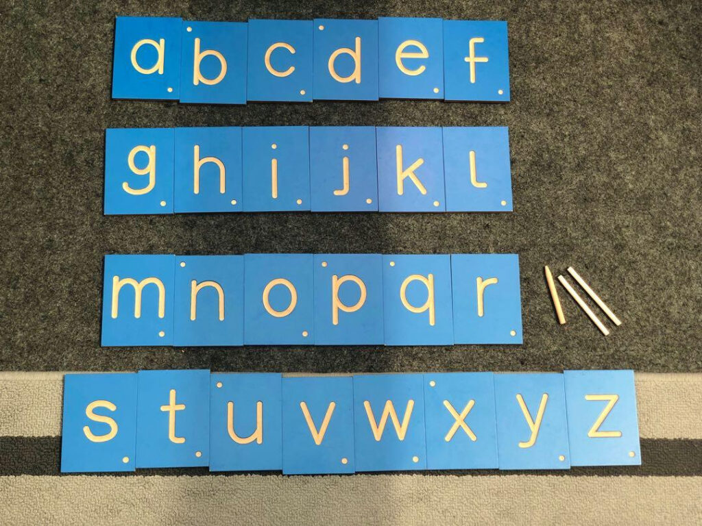 Tracing Tiles Within Alphabet Tracing Tiles
