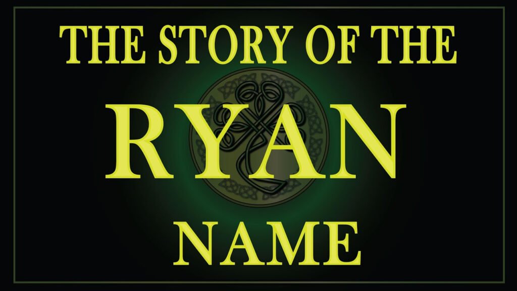 Tracing Your Irish Ancestry   The Ryan Clan Pertaining To Tracing Name Ryan